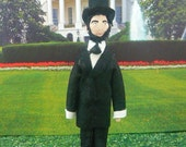 Art Doll Presidential Miniature Abraham Lincoln