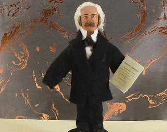 James McCune Smith Black History African American Doctor Abolitionist Miniature Figurine