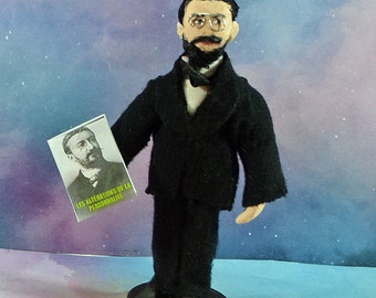 Alfred Binet French Psychologist Mind Science Collectible Figure