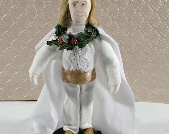 Ghost of Christmas Past Dickens A Christmas Carol Figurine Miniature Art Doll