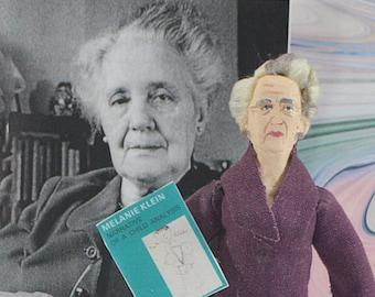 Melanie Klein Child Psychiatry Psychoanalyst Mind Science Collectible Figure