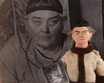 Emily Carr Doll Miniature Canadian Artist Writer Collectible Figure