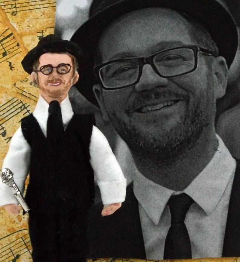 Josh Kaufman Doll Miniature Soul Singer Fan Art Character