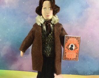 Oscar Wilde Doll Miniature Figurine American Writer Classic Literature Author