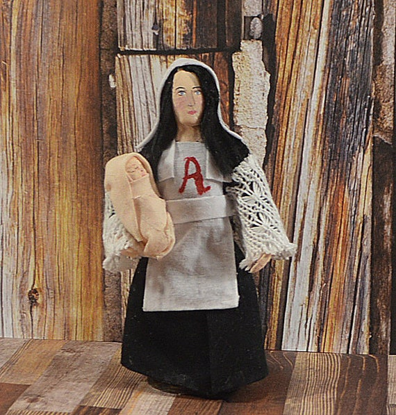 who did hester prynne have an affair with