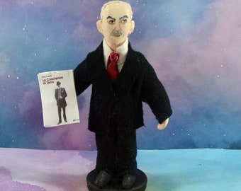 Italo Svevo Italian Writer Collectible Figure Miniature Author Figurine