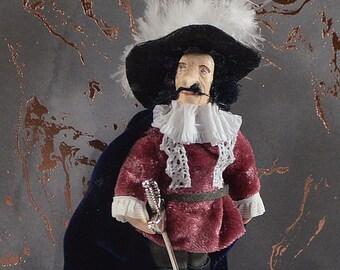 Cyrano de Bergerac French Novelist Literary Art Figurine