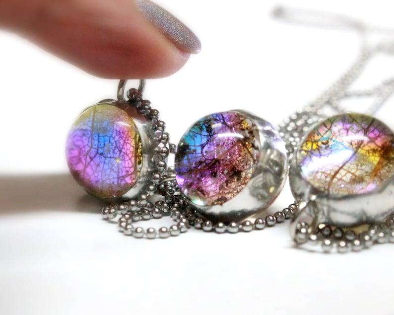 Earring Set Handmade Necklace Optional Fashion Jewelry Humorous Glass Pendant