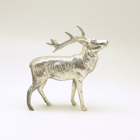 image 0 - Metal Reindeer Christmas Decorations