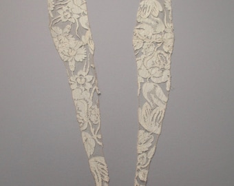 Antique Lace Collar Civil War era Victorian