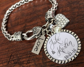 Bridal shower gift, future daughter in law wedding gift BRIDE, giving away my son is not an easy thing to do, bridal jewelry daughter in law