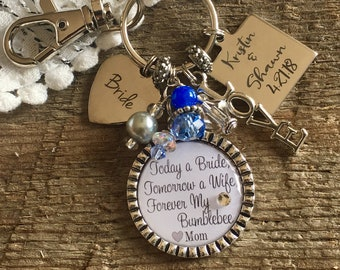 Daughter gift, something blue, something new, wedding bouquet charm, Bridal bouquet charm, wedding gift bride, bridal shower gift, love