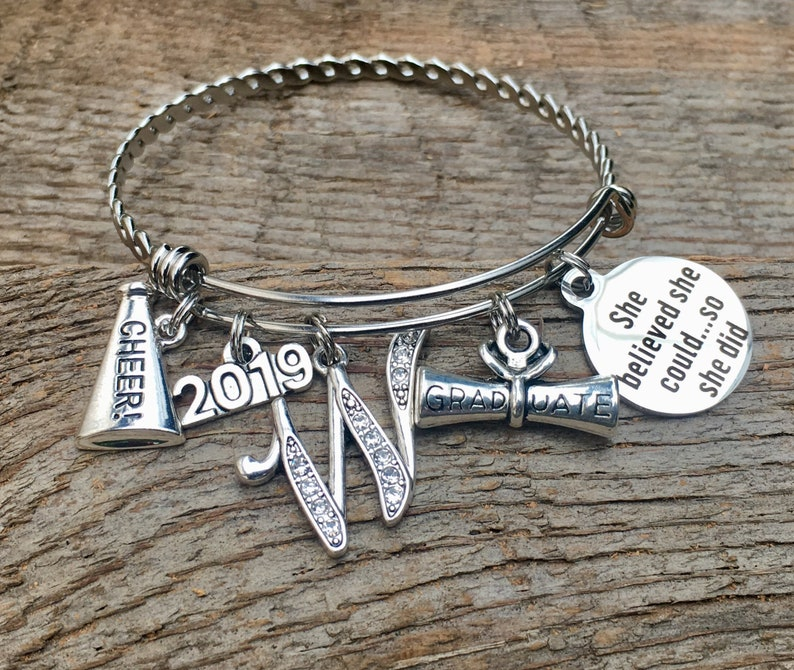 CHEERLEADING Gifts CHEER Graduation gift She believed she image 0