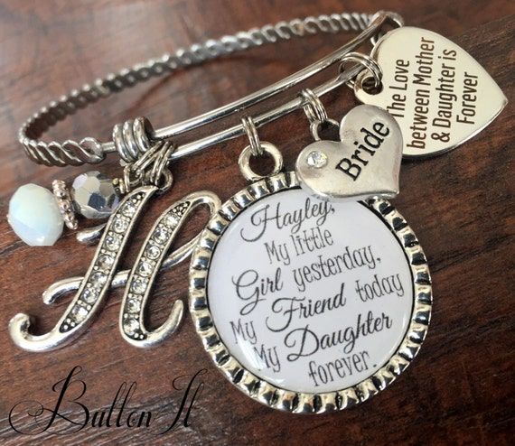 Mother Daughter Jewelry Bride Gift Mother Daughter Bracelet Etsy