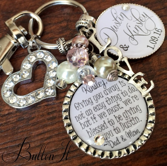 Etsy Wedding Gifts: Wedding Gift For BRIDE Bridal Bouquet Charm Daughter
