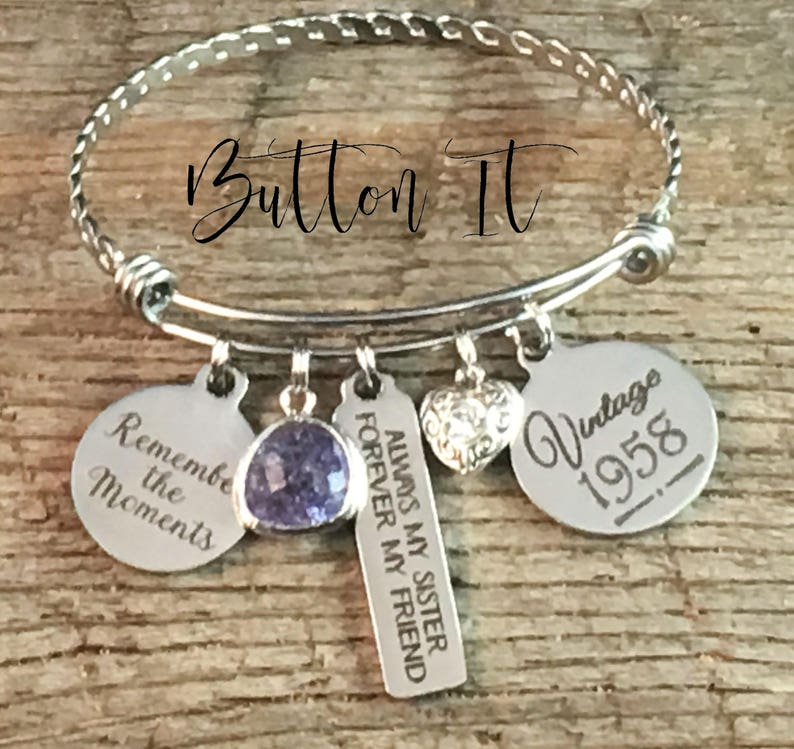 Birthday Gifts For Her Aquamarine Sister 50th