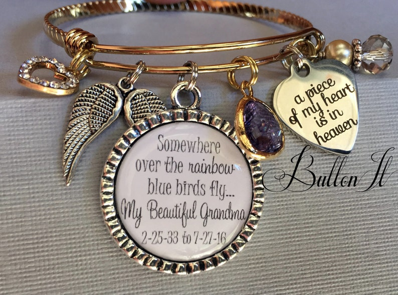 Pretty blue zircon cristal strass fleur champs Jardin bracelet manchette cadeau