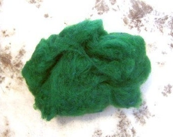 WOOL ROVING - SPRUCE