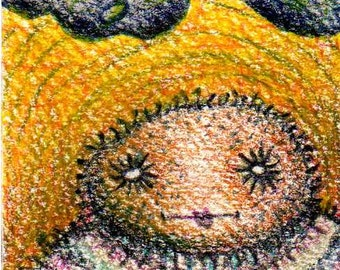 Enorb - ACEO Collectible Miniature Drawing