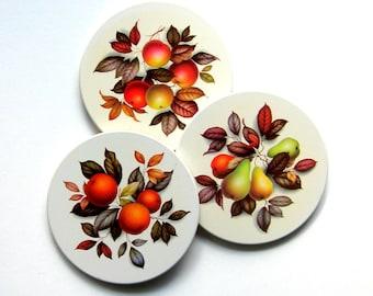 Fruit Themed Coaster Sets