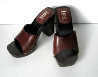 3f32dbe34562 Vintage Sandals - LEI - Dujour - Slip on sandals