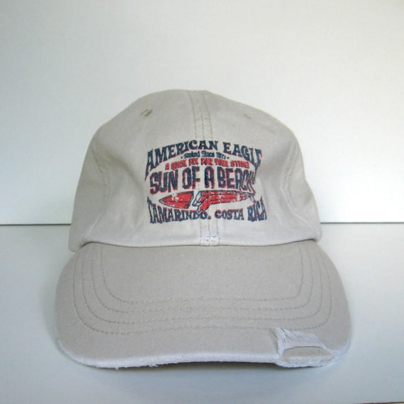 Vintage American Eagle Outfitters Baseball Cap 1980s AEO  b899c57120be