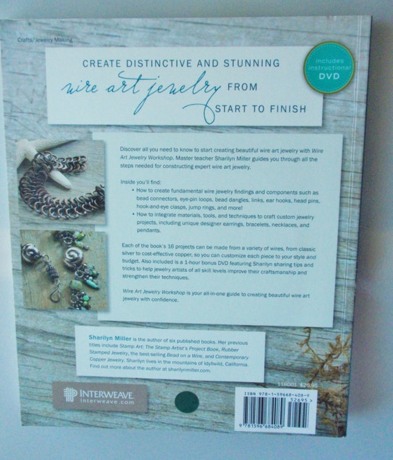 Instruction Book:Wire Art Jewelry DVD. 160 pages | Etsy