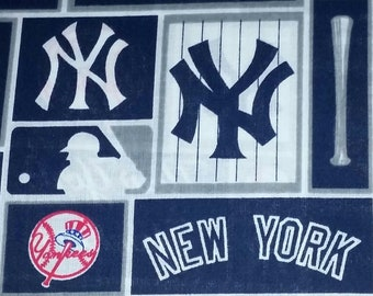5f1af02bb4b55 Ny yankees fabric | Etsy