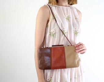 Judith Leiber Purse   Designer Handbag   Snakeskin Bag   Designer Purse   Snakeskin Purse   Vintage Couture Purse   Snakeskin Handbag