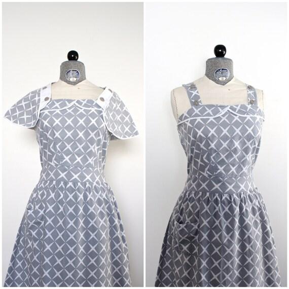 1940er Jahre Kleid 40er Jahre Kleid Vintage 1940er Jahre Kleid