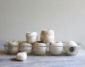 Vintage Basketful of Thread