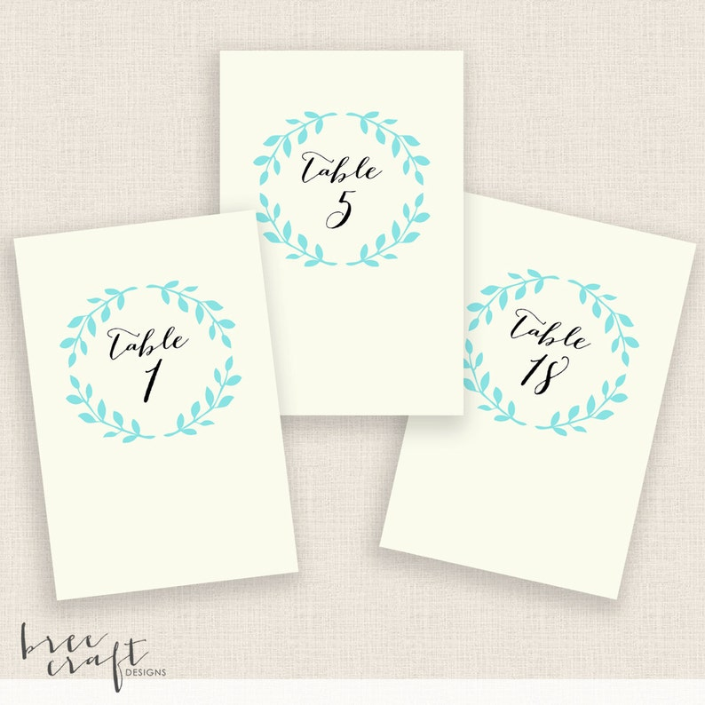 image relating to Diy Printable Table Numbers named Do it yourself Printable Desk Quantities - 4x6 Electronic Style - Figures 1-20 - Calligraphy Wreath - Fast Down load