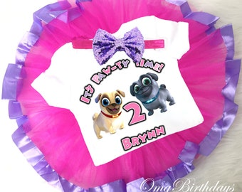 Puppy Dog Pals Birthday Outfit Etsy