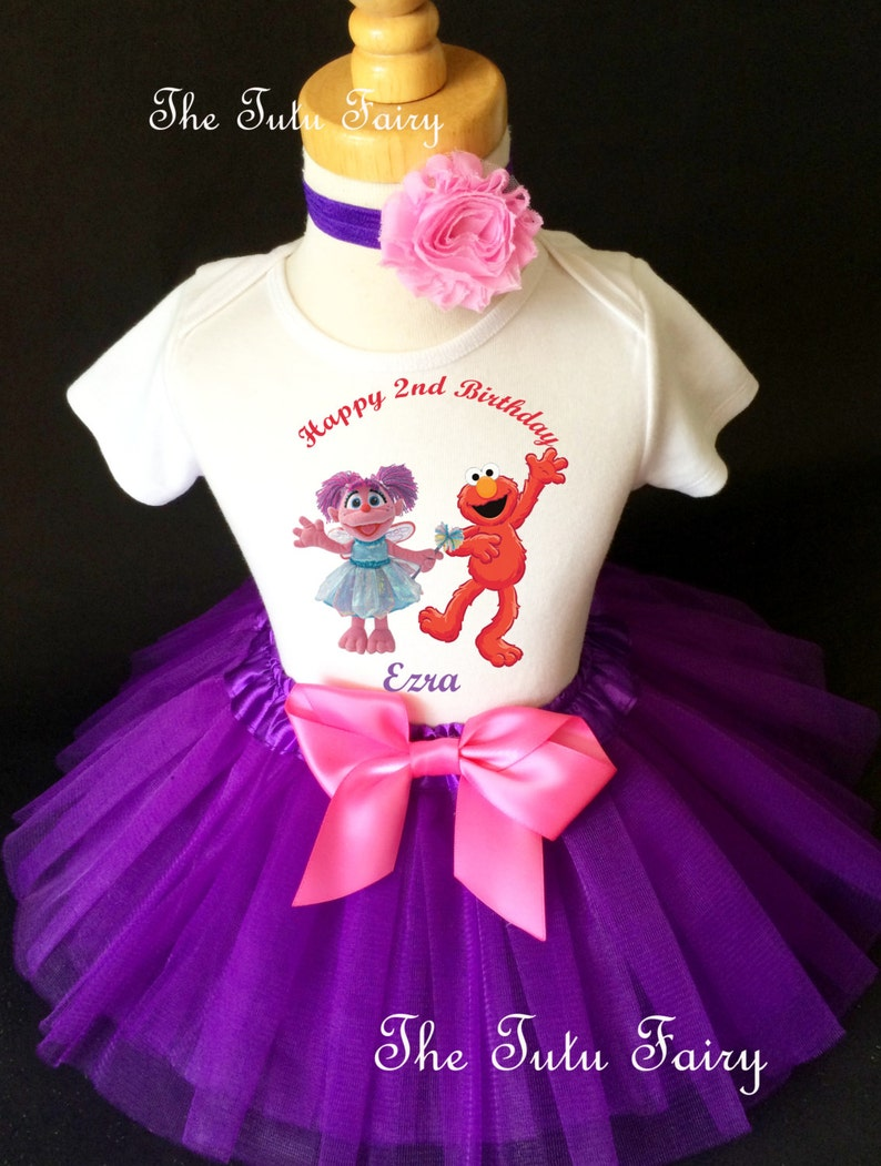 Abby Cadabby Pink Fairy  2nd Second Birthday Shirt Tutu Outfit Set Party girl