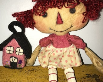 Annie and her doll house