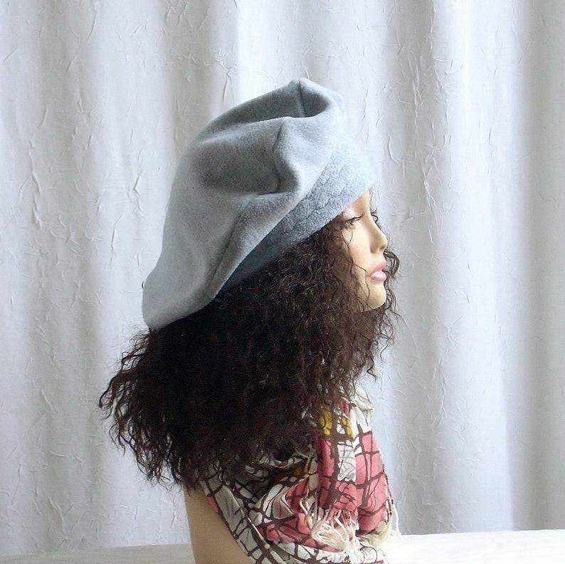 XL Oversized Beret/Large Beret/Tam Hat/Hats for Larger image 0