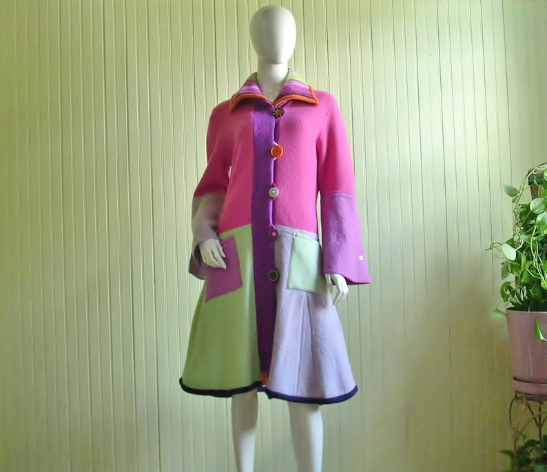 Sweater Coat/Eco Couture/Repurposed Upcycled image 0