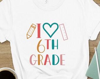 Sixth Grade Teacher Shirt, Sixth Grade Squad, Back to School T-Shirt, 6th Grade Shirt, 6th Grade Teacher Tee, Grade Level Tee Shirt