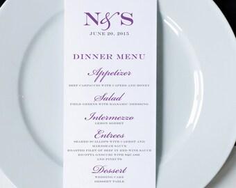 Wedding Menus, Printed Wedding Menu Cards, Dinner Menus, Wedding Reception Menus, Wedding Decor, Elegant Wedding Menus, Napkin Menu Inserts