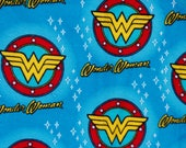 Wonder Woman Baby Blanket - Super Hero Swaddle Blanket - Character Flannel Blanket - Baby Photo Prop - Baby Bedding - Super Hero Nursery
