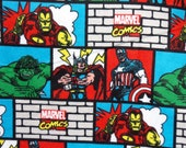 Marvel Comics Baby Blanket - Super Hero Swaddle Blanket - Character Flannel Blanket - Baby Photo Prop - Baby Bedding - Super Hero NurseryMa