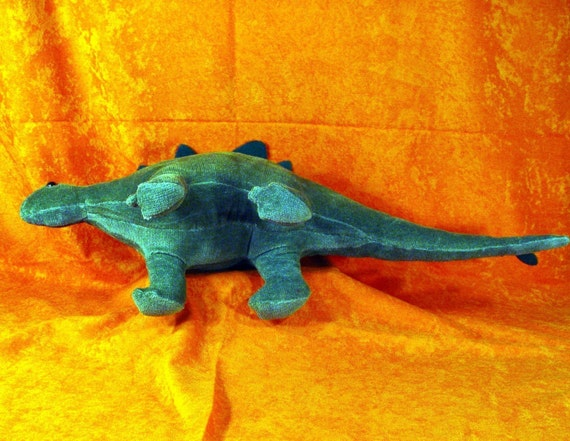 Zu einem Stegosaurus Dinosaurier Tier weichen Stofftier Nähen | Etsy