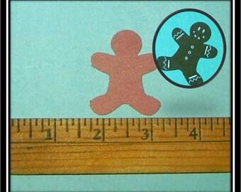 Two dollars for 2 dozen cute little die-cut people or gingerbread people