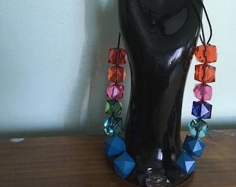 "28"" chunky, vintage beads"
