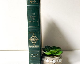 The Sound and the Fury, Vintage Franklin Library Collectible Book