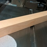 """Maple Block (1-1/2"""" x 1-1/2"""" x 12"""") RESERVED"""