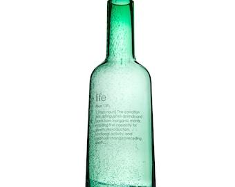 Bottle #1 LIFE (Green)