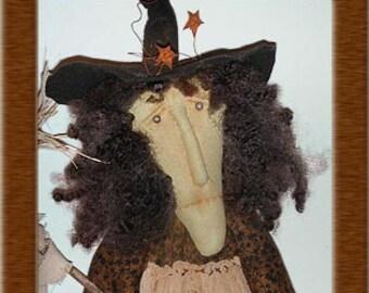 Mrs Wigglesworth Primitive Witch Pattern