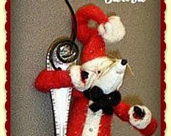 Teaspoon Mouse Ornie E-Pattern