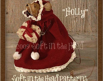 Holly Mouse E-Pattern